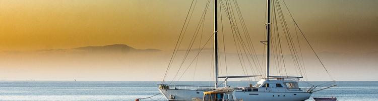 En romantisk date på båden
