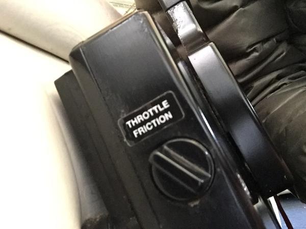 throttle friction QuickSilver styrebox
