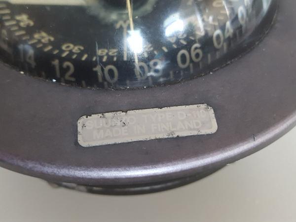 Reparation af kompas.