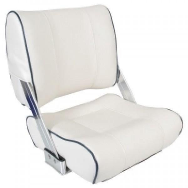 Sæde med vip ryg