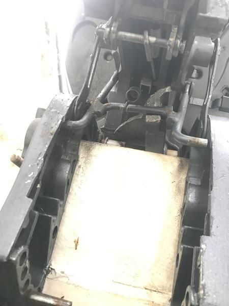 Motor tilt knækket