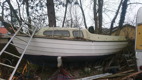 Mayland 17 minstrel sejlbåd