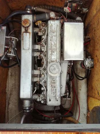 Motornummer på Bedford 330D