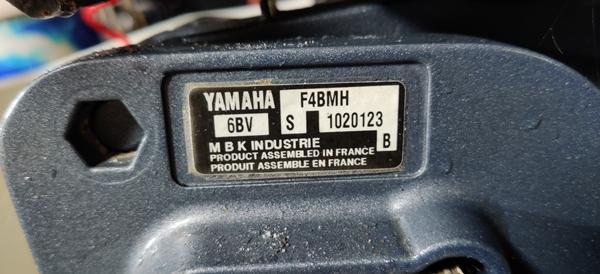 Årgang på Yamaha motor