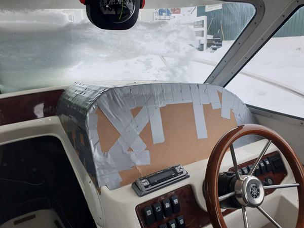 Dashboard glasfiber