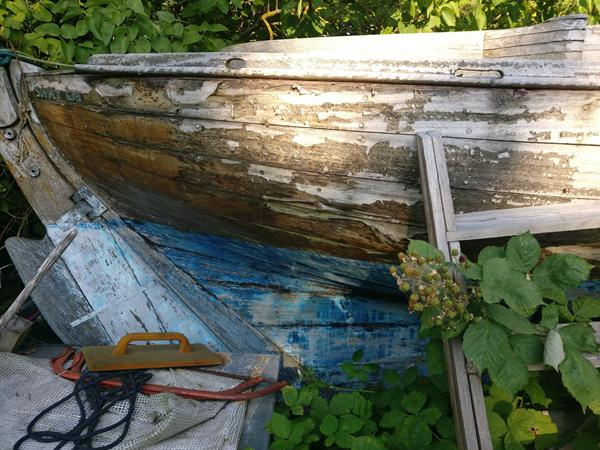 Gammel båd. Reparation mulig?