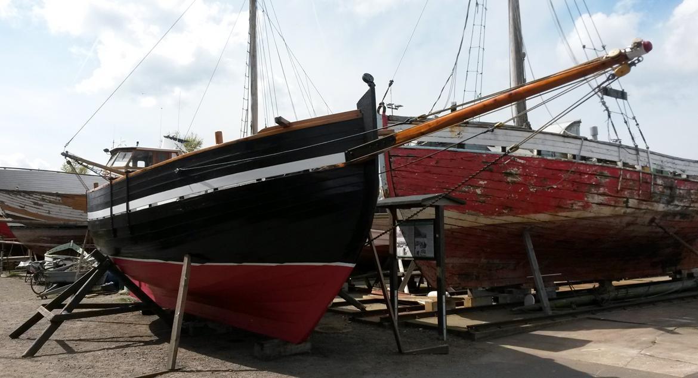 Spidsgatter Damkutter ( Tidl. båd ) - Klar til baljen 2014 billede 20