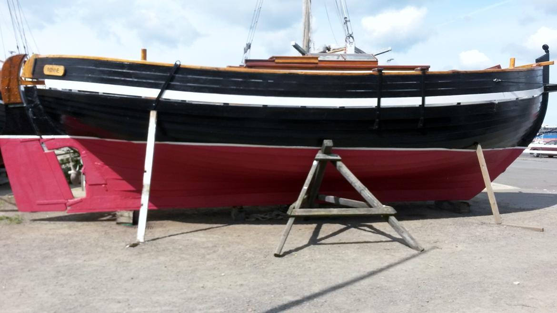 Spidsgatter Damkutter ( Tidl. båd ) - Klar til baljen 2014 billede 21