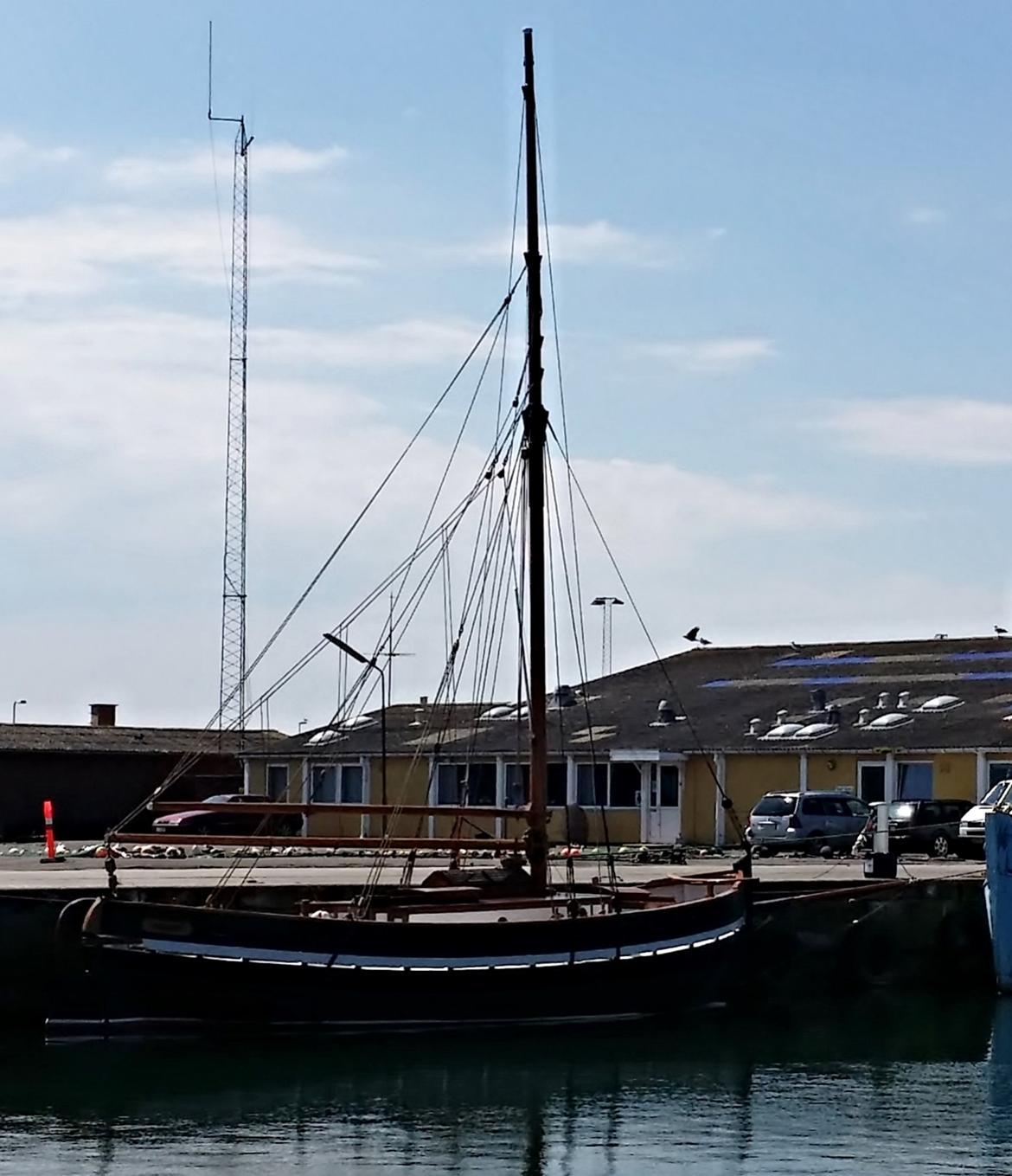 Spidsgatter Damkutter ( Tidl. båd ) - Her ligger hun så. billede 7