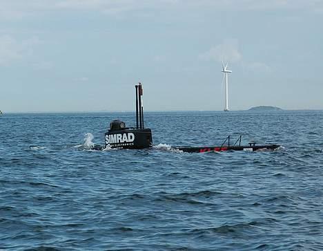 """X Ubåd af """"Kraka"""" klassen - Kraka dykker i Øresund billede 5"""