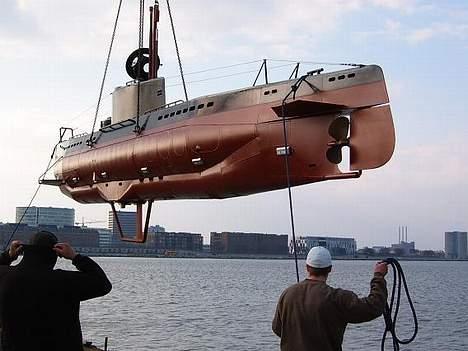 """X Ubåd af """"Kraka"""" klassen - Kraka søsættes til stabilitetsprøve billede 7"""