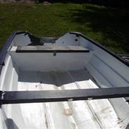 Glasfiberbåd 14 fods jolle *SOLGT*