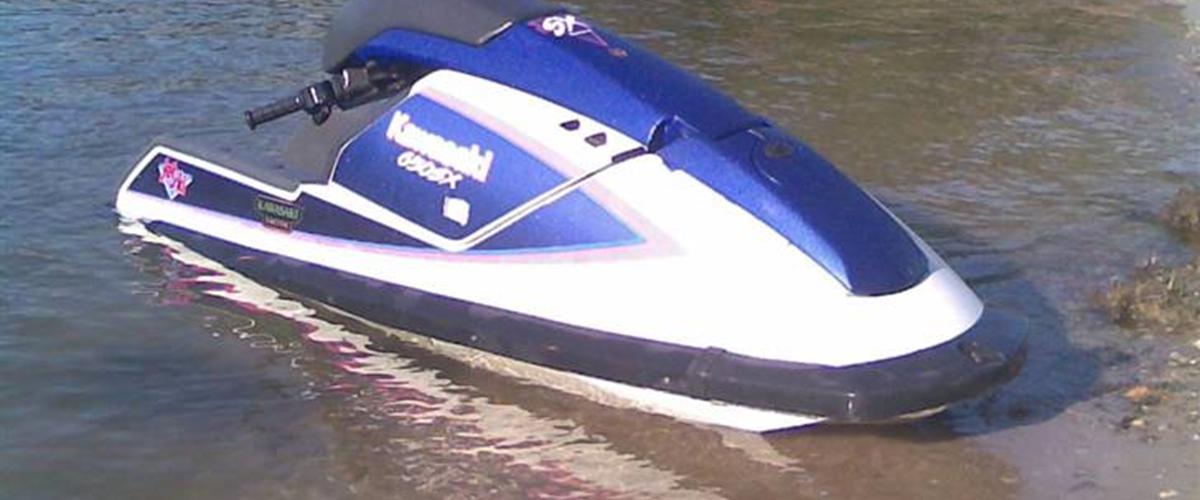 Kawasaki 650 SX Jet-Ski -solgt - 1990 - Det er en gammel ...
