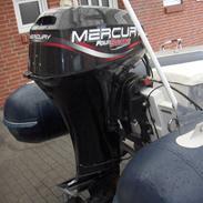 Gummibåd Honda Marine 400 (SOLGT)