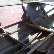 X træ båd