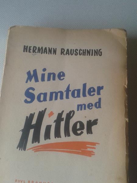 Mine samtaler med Hitler