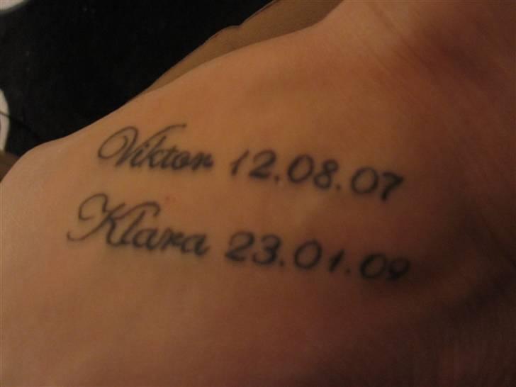 tattoo skrift navne