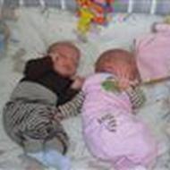 Anja Mor til tvillinger F