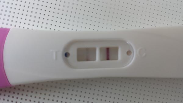 svag graviditetstest