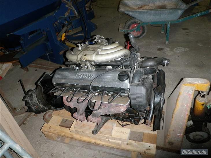 Bmw E30 Eta Ombygning Motoren Der Skulle Renoveres Og Smides I Min Billede