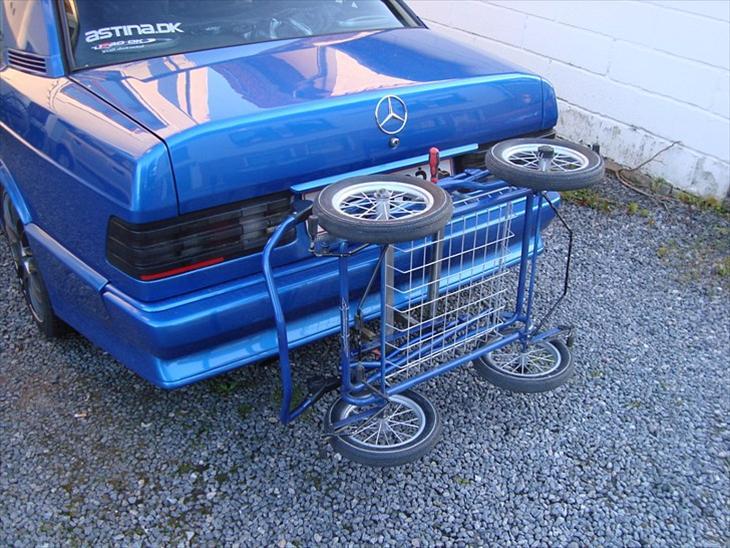 Barnevogns stativ på Merceren - Diverse bil - Uploadet af anders k
