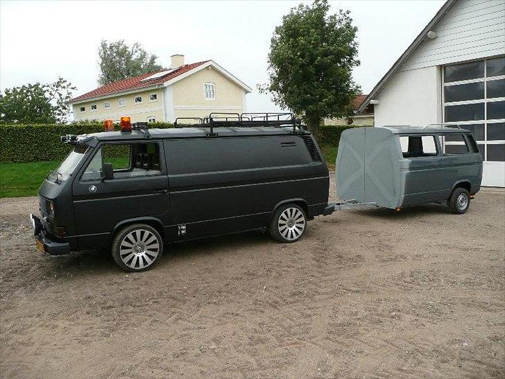 VW T3 trailer (campingvogn) Diverse bil Fotos fra UFFE A