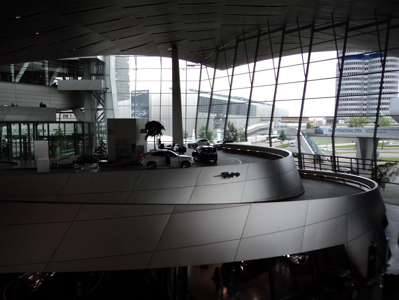 BMW Welt museum i München 2015 billede 3