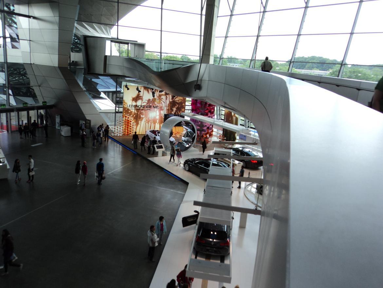 BMW Welt museum i München 2015 billede 5