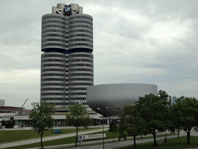 BMW Welt museum i München 2015 billede 9