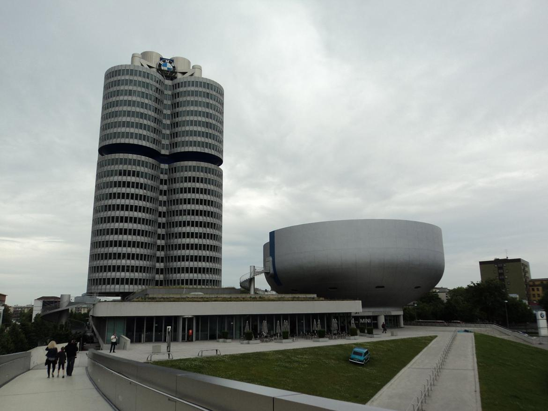 BMW Welt museum i München 2015 billede 15