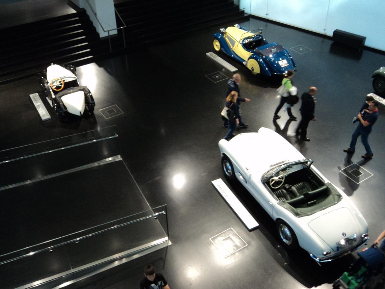 BMW Welt museum i München 2015 billede 85