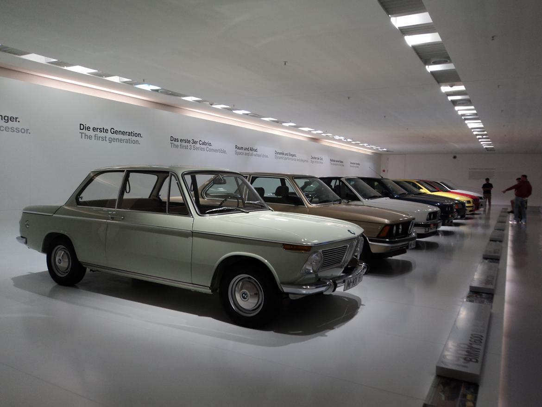 BMW Welt museum i München 2015 billede 98