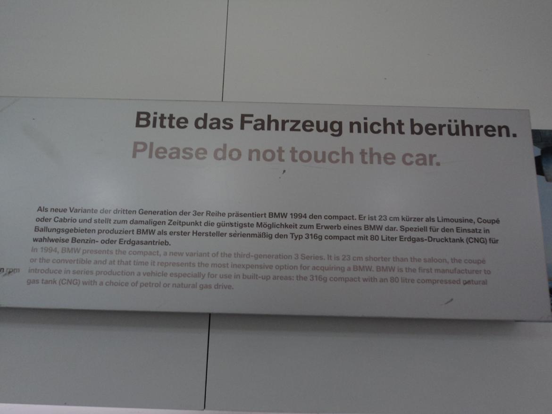 BMW Welt museum i München 2015 billede 117