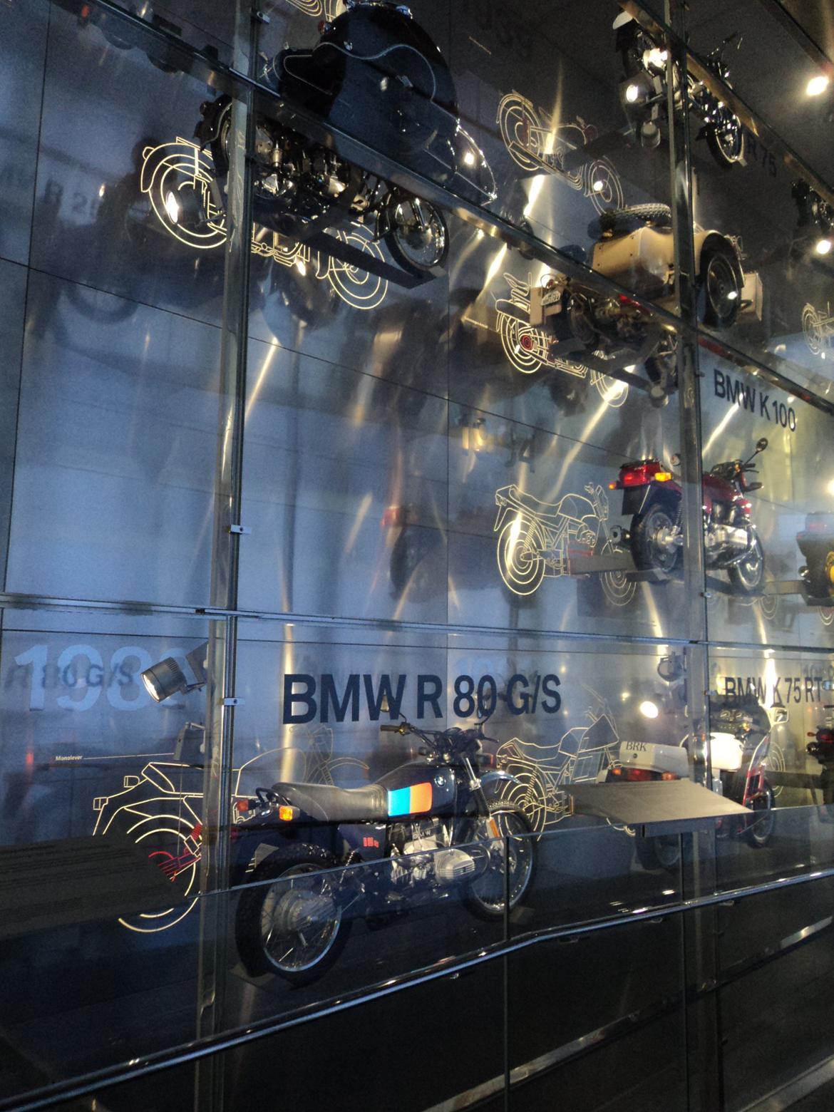 BMW Welt museum i München 2015 billede 244