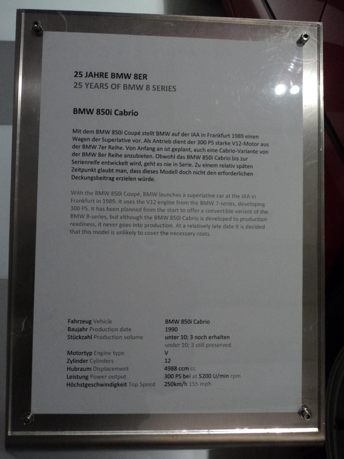 BMW Welt museum i München 2015 billede 255