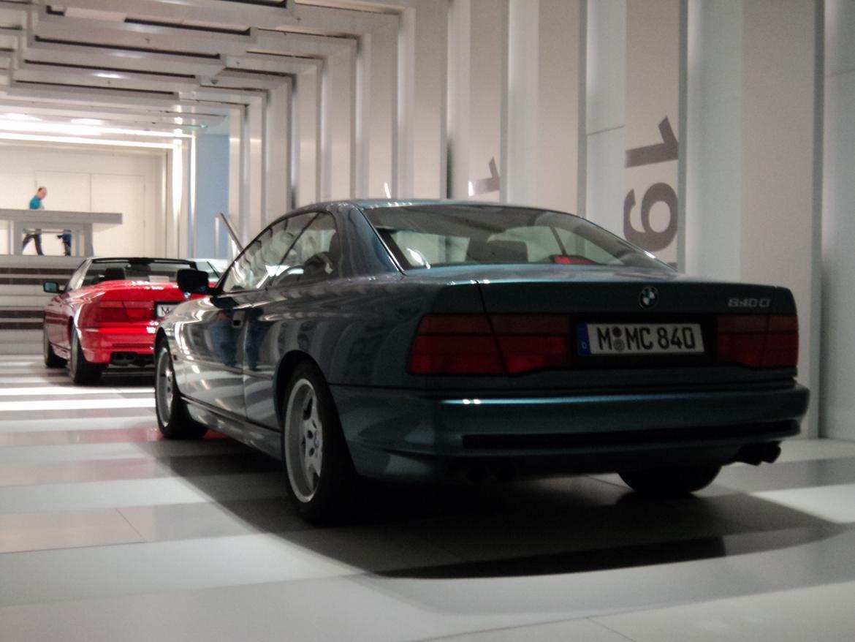 BMW Welt museum i München 2015 billede 268