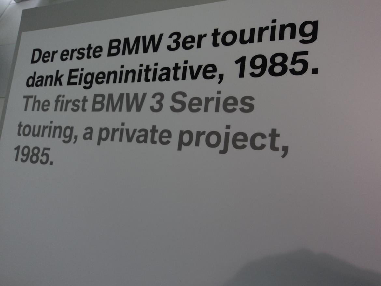 BMW Welt museum i München 2015 billede 274