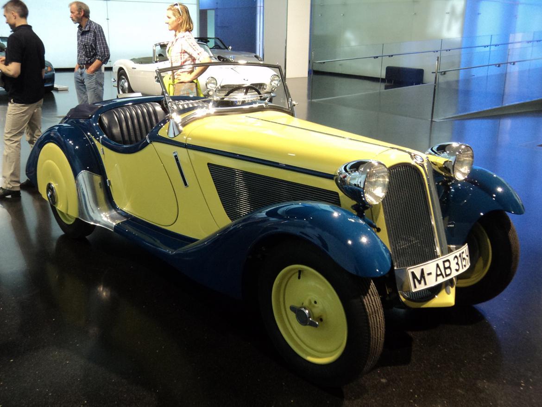 BMW Welt museum i München 2015 billede 280
