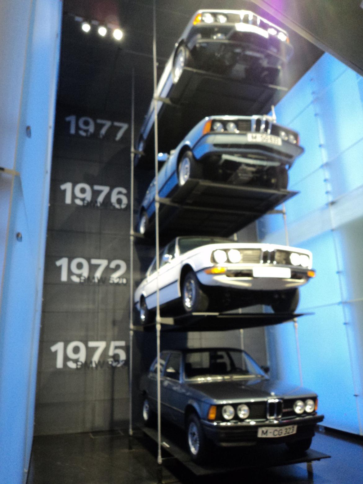 BMW Welt museum i München 2015 billede 292