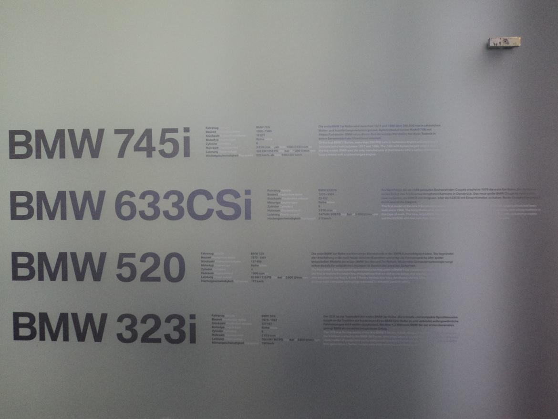 BMW Welt museum i München 2015 billede 294