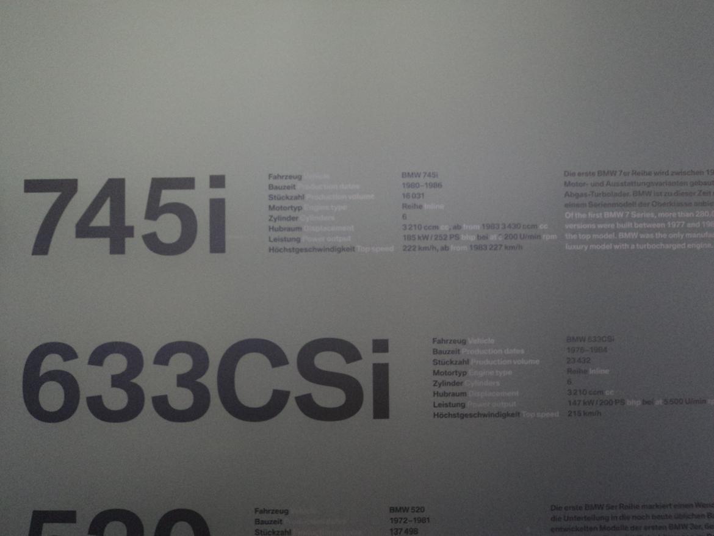BMW Welt museum i München 2015 billede 299