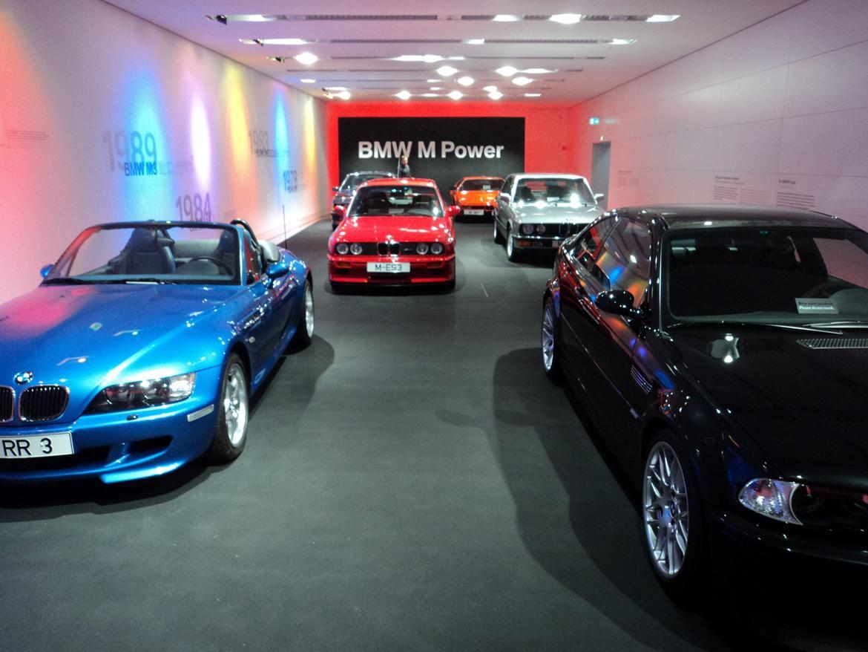 BMW Welt museum i München 2015 billede 320