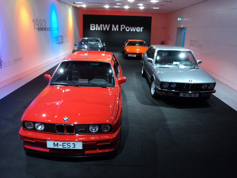 BMW Welt museum i München 2015 billede 323
