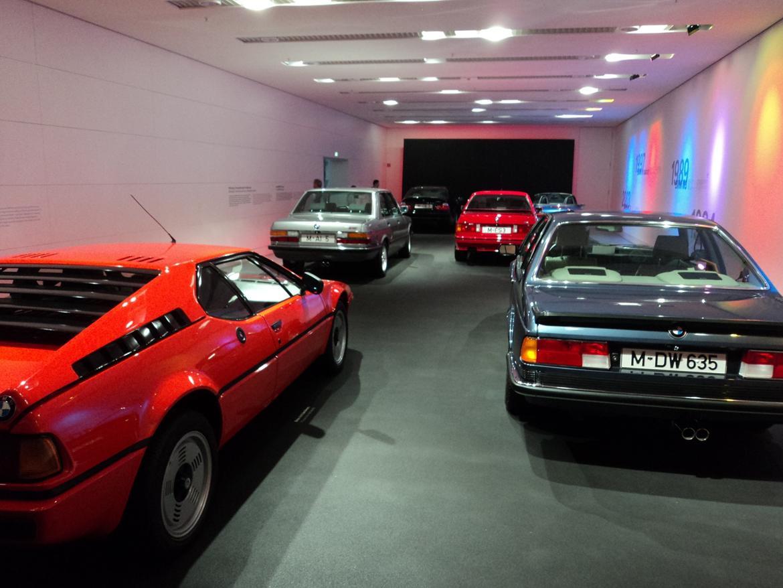 BMW Welt museum i München 2015 billede 335