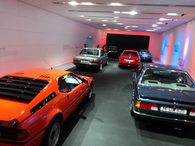 BMW Welt museum i München 2015 billede 336
