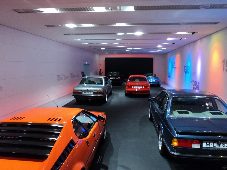 BMW Welt museum i München 2015 billede 337