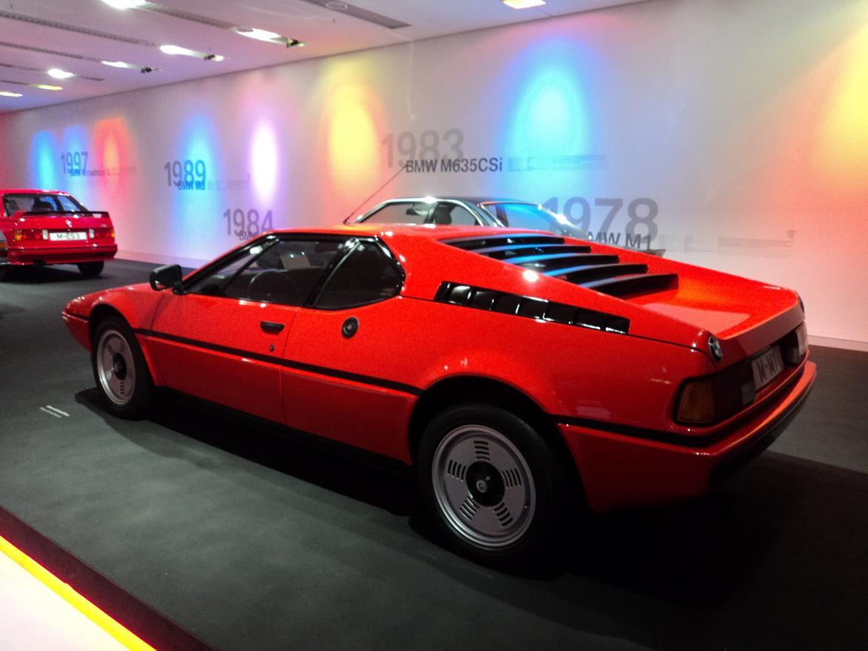 BMW Welt museum i München 2015 billede 338