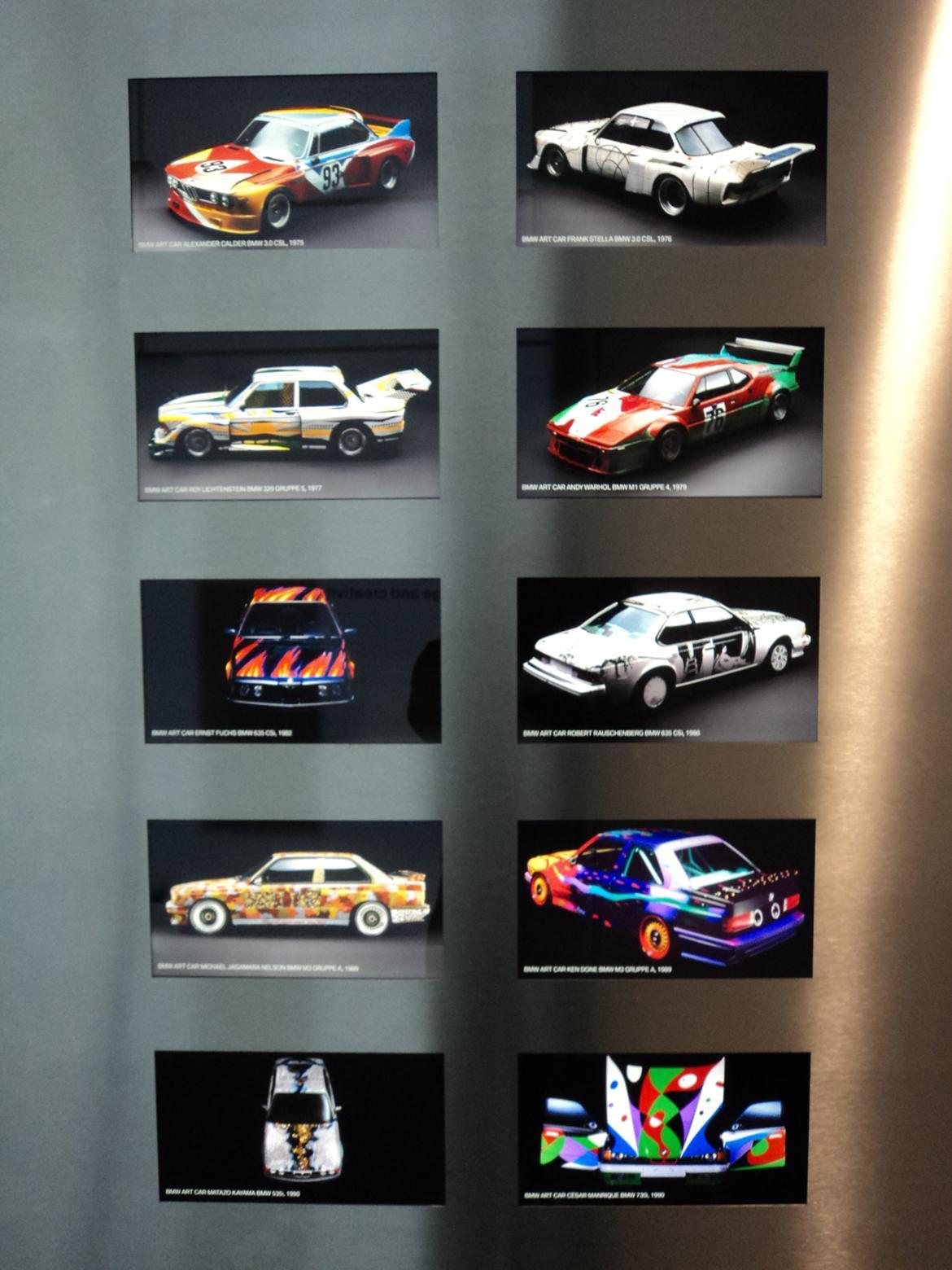BMW Welt museum i München 2015 billede 396