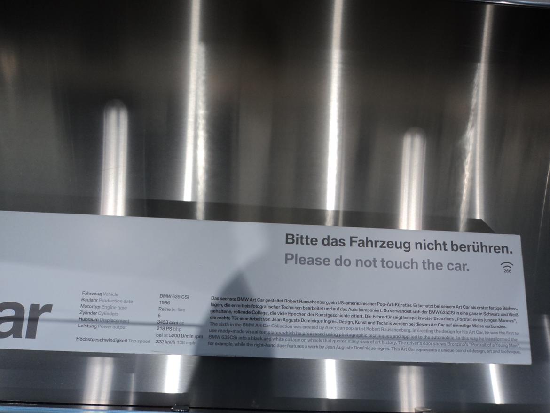 BMW Welt museum i München 2015 billede 411