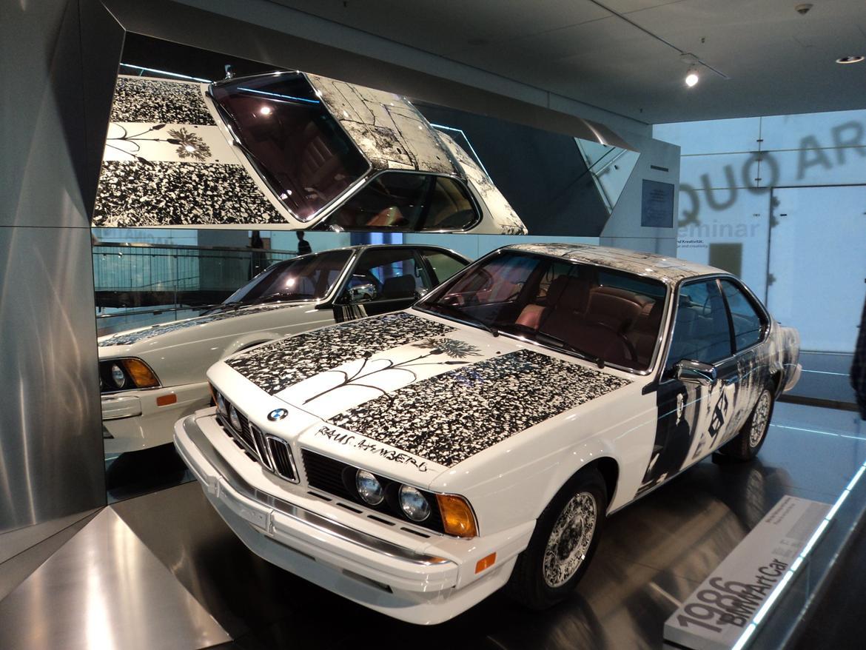 BMW Welt museum i München 2015 billede 415